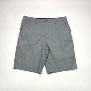 Hurley Classic Fit Mens 36 Lightweight Gray Shorts